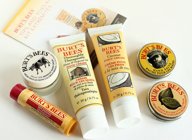 burts bees coconut foot cream review