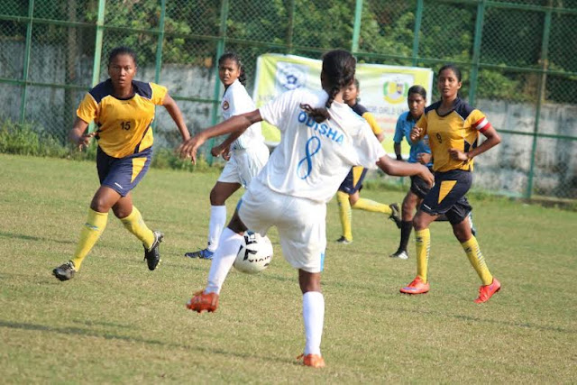 Odisha qualify for semi finals of U18 Girls National Football Championship