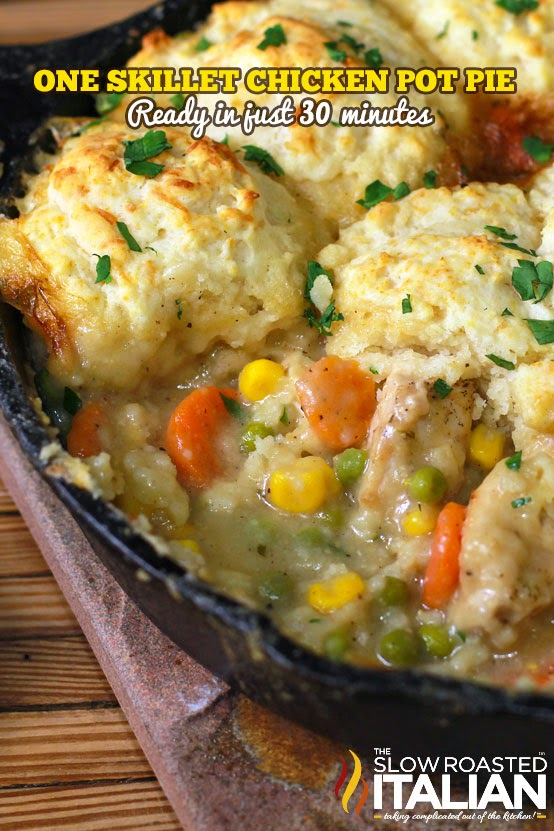 http://www.theslowroasteditalian.com/2013/10/best-ever-skillet-chicken-pot-pie-30-minutes-recipe.html