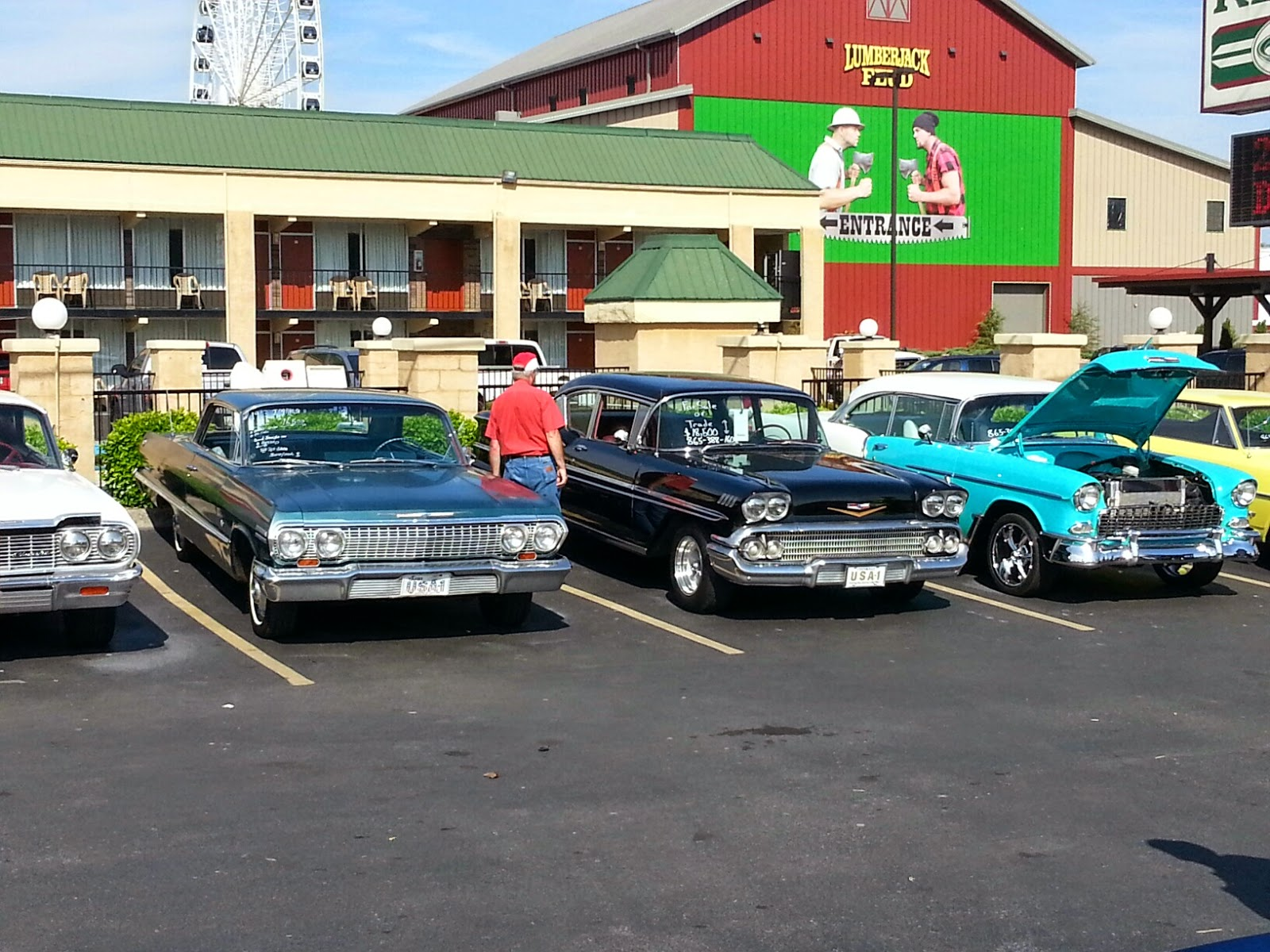 So much to see at the Pigeon Forge Rod Run