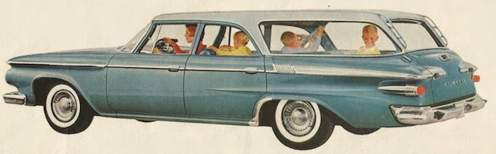 1961 Plymouth station wagon