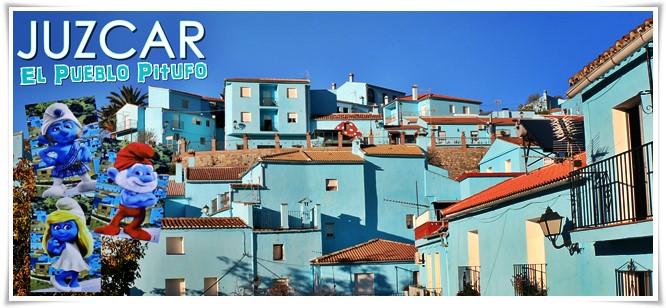 Juzcar-Pueblo-Pitufo-Málaga