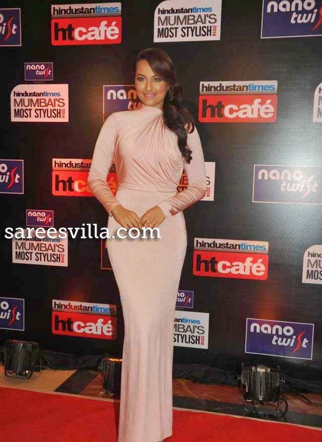 Sonakshi Sinha at Most Stylish Awards 2014