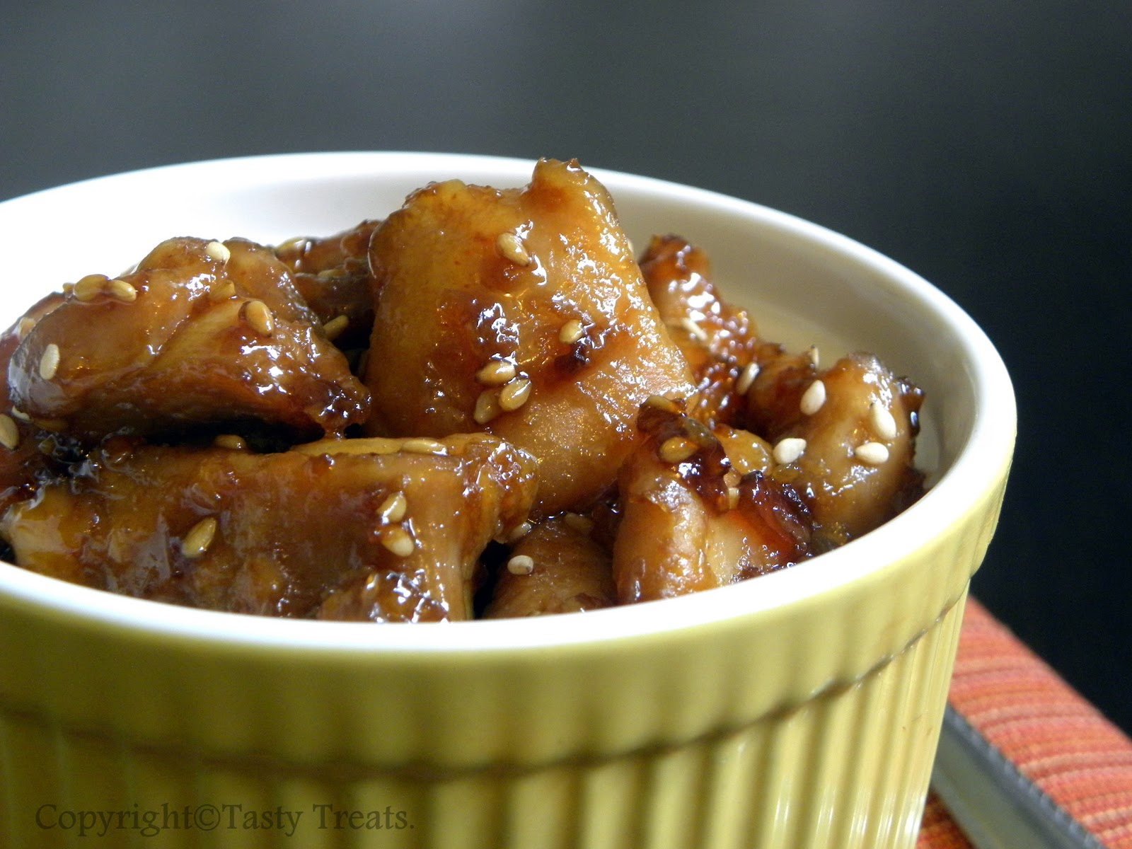 Tasty Treats: Sesame Orange Chicken