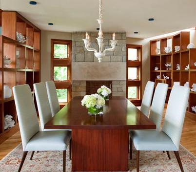 Mesas de comedor modernos madera vidrio precios ofertas - Libreros de madera modernos ...