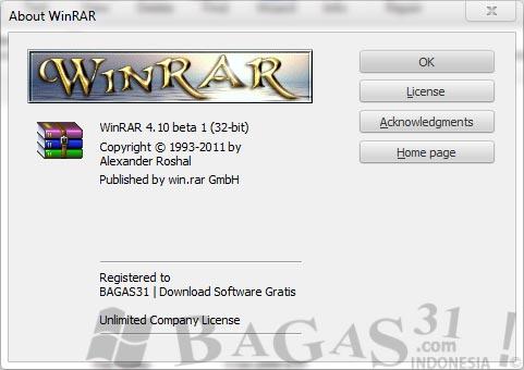 WinRAR 4.10 Beta 1 Full Keygen 3