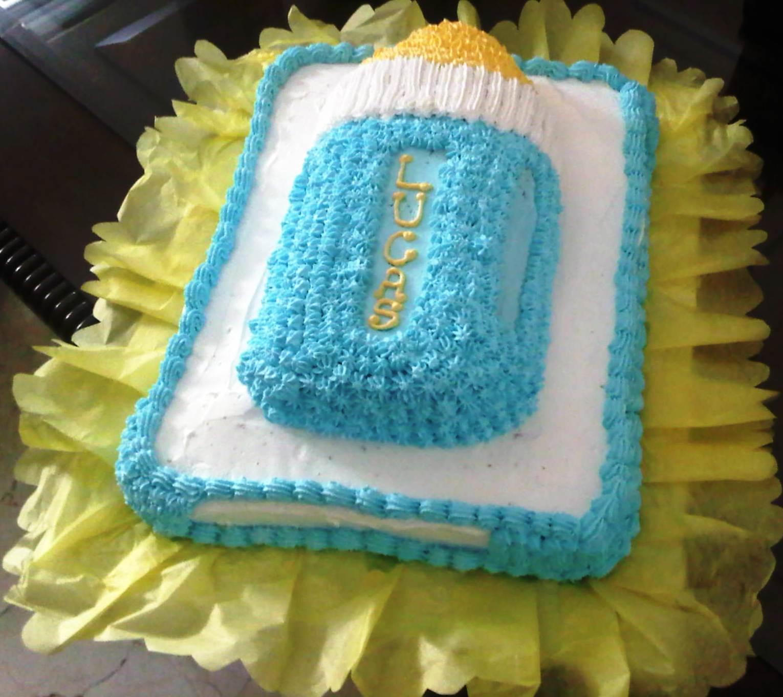 Cream Cake Pastelera Bizcochos para Baby Shower