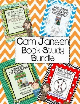 http://www.teacherspayteachers.com/Product/Cam-Jansen-Book-Study-Bundle-1319553