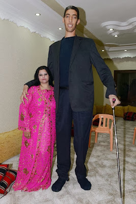 World tallest man Sultan Kosen