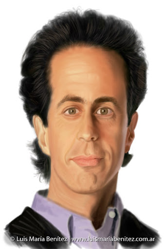 Jerry Seinfeld illustration / Ilustracin &#169; Luis Mara Bentez