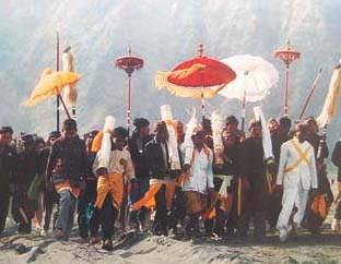 Suku Tengger di sekitar Gunung Bromo