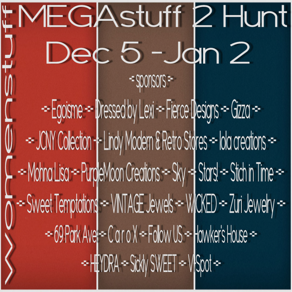 MEGA STUFF HUNT 2014