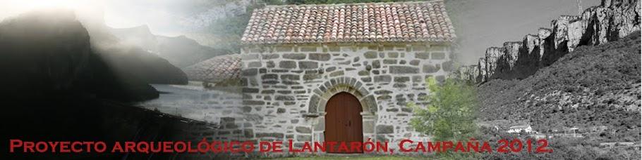 Proyecto arqueológico Lantarón