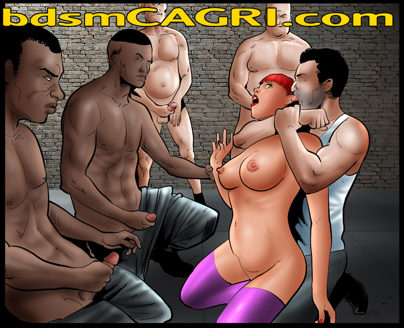 MOUNTAINS OF HQ BDSM COMICS!!!