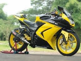 Gambar Foto Kawasaki Ninja 250 Modifikasi