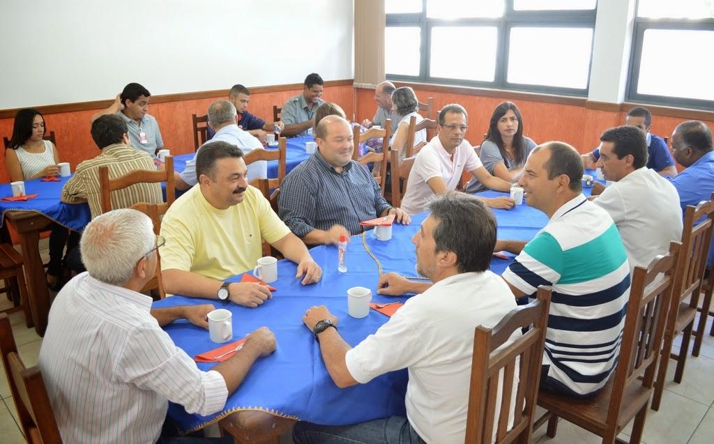 Café da manhã com o comando do 16° GBM: estreitamento de contato com os colaboradores e agradecimento pela parceria