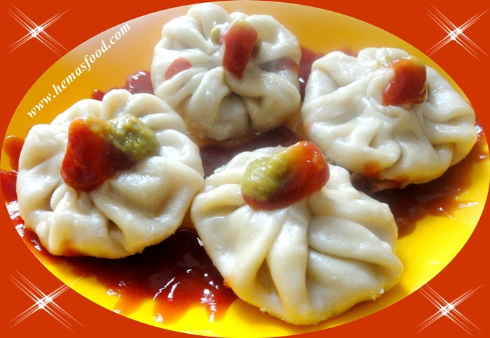 Momos - Steamed Chicken Momos