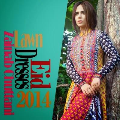 Zainab Chuttani's Lawn Eid Collection 2014