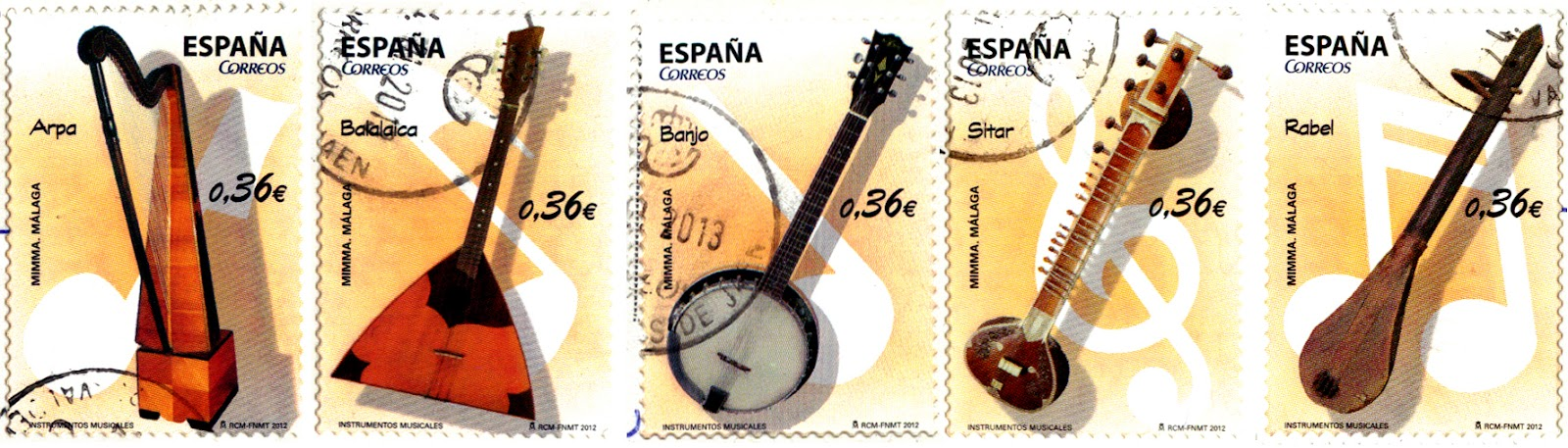 traditional spanish instruments 0537 amp 0538 spain andalusia