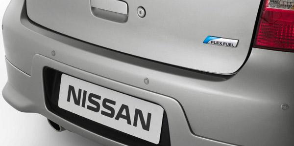 Nissan Tiida Sedan - Sensor de estacionamento