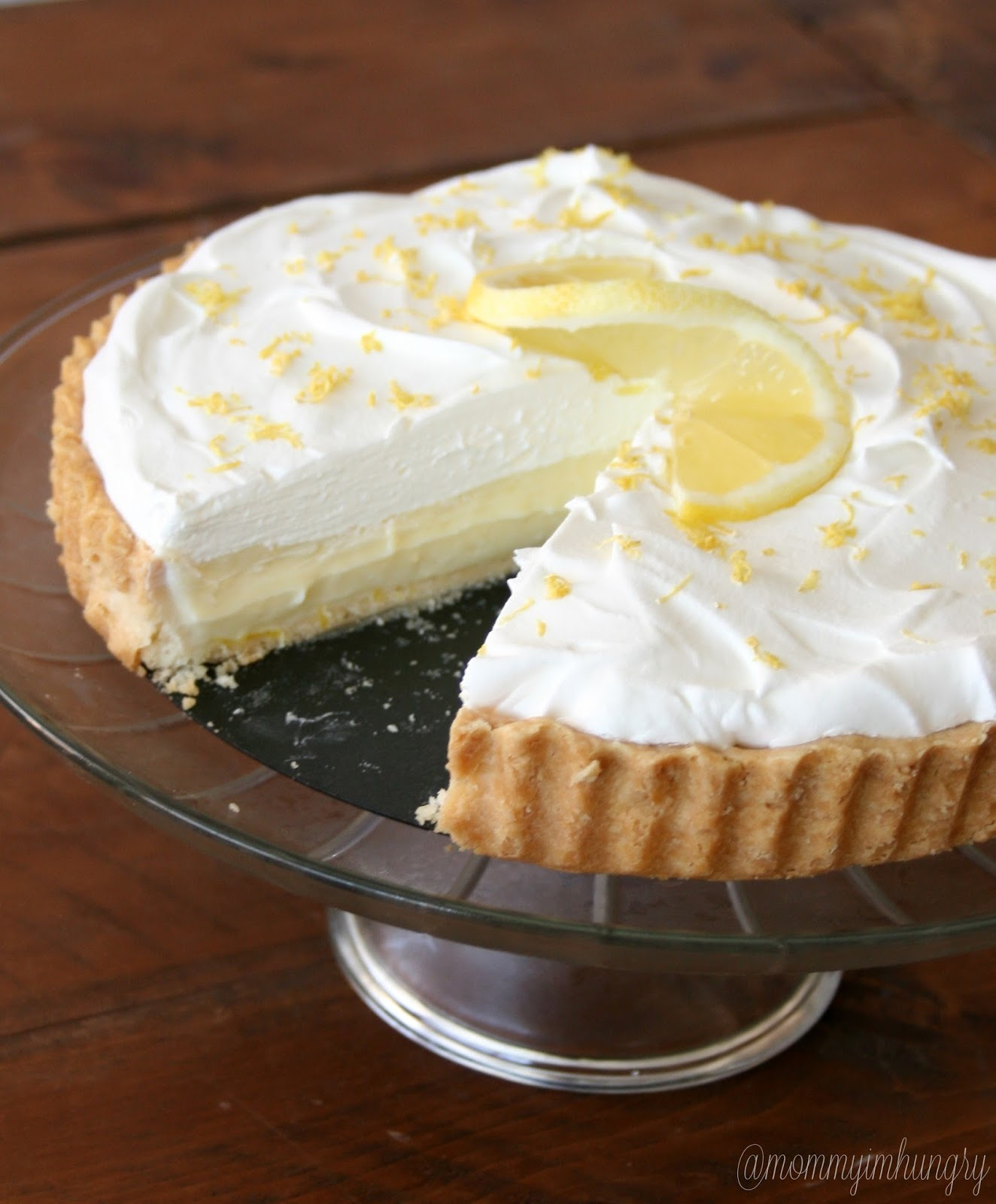 MIH Recipe Blog: Lemon Cream Pie