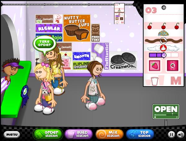 cool math games papas freezeria