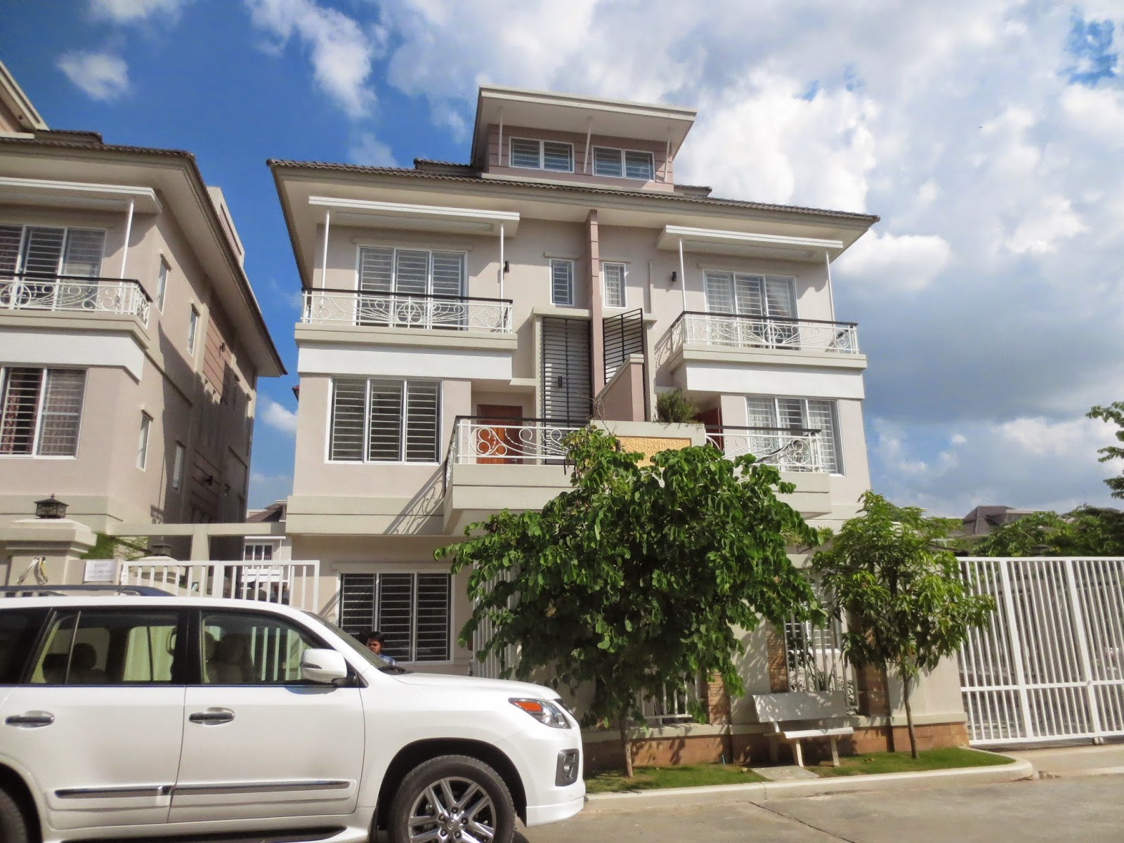 Twin House Borey Peng Hout Boeung Snor For Sale Cambodia