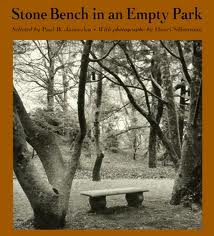 Stone Bench in an Empty Park  811 STO