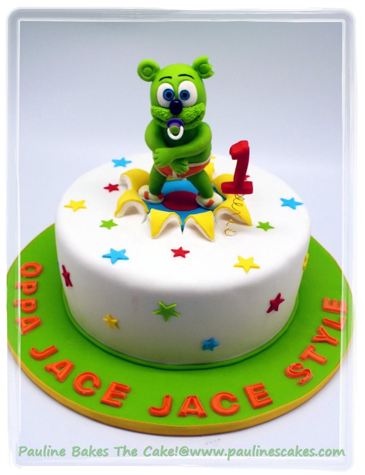 Pauline Bakes The Cake Gummy Bear Gangnam Style Cake