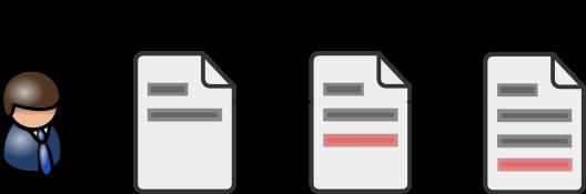 Controle linear da evolução do texto é necessidade básica atualmente.