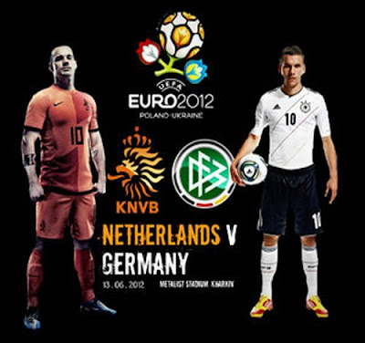 Netherlands vs Germany Euro 2012