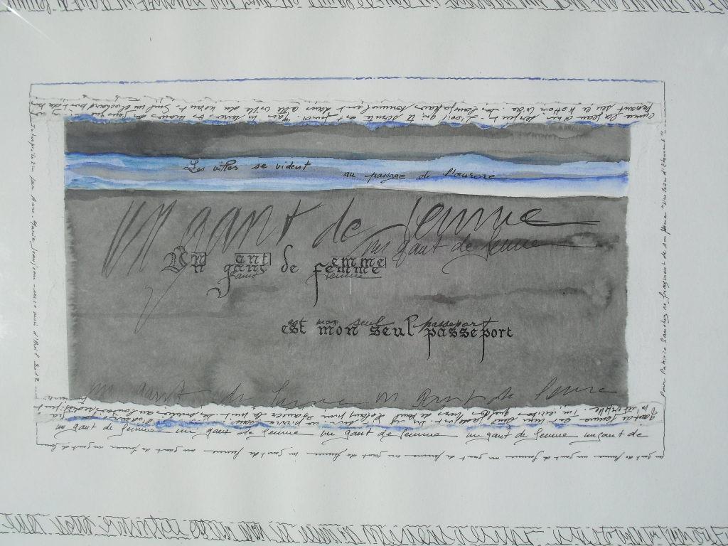 Anne-Marie Jeanjean - poème de Patricio SANCHEZ ROJAS, France, 2012.