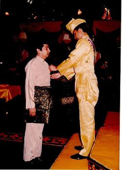 With Raja Nazrin of Perak