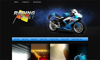 Racing Street WordPress Theme