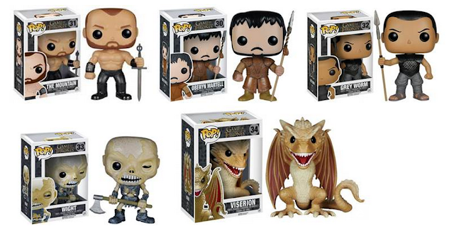 Game of Thrones - Figurines Funko Pop!