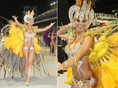 Fotos musas do Carnaval 2011 - São Paulo - 1° noite - Caroline Bittencourt