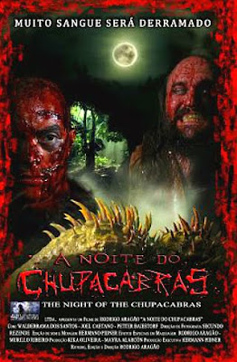 Filme Poster A Noite do Chupacabras DVDRip XviD &amp; RMVB Nacional