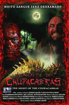 Filme Poster A Noite do Chupacabras DVDRip XviD & RMVB Nacional
