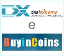 DealExtreme e Buyincoins