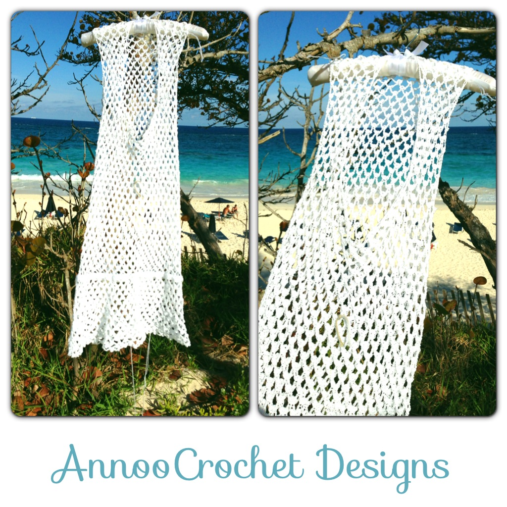 Free Pattern Crochet Cover Up : Crochet Cotton Beach Cover Up Pattern - Long Sweater Jacket