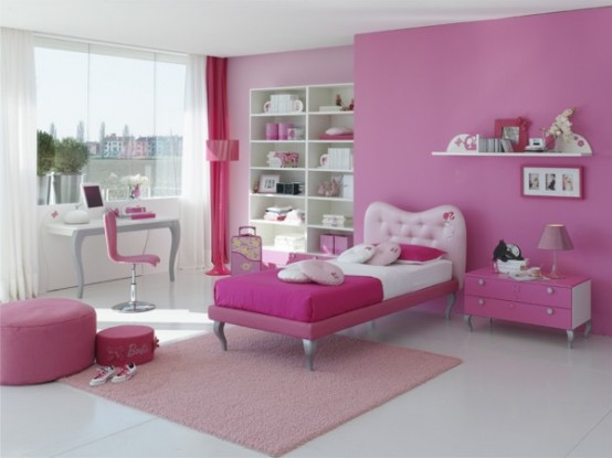 Girls Bedrooms Ideas 2012