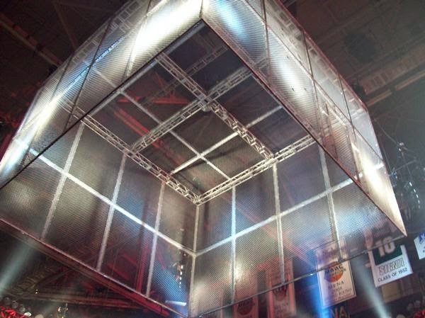 steel cage Hell in a Cell Devil's Playground