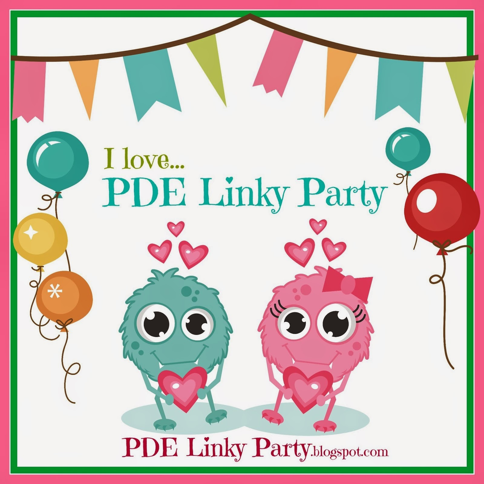I LOVE PDE Linky Party