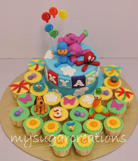 Pocoyo Cake Toppers Malaysia