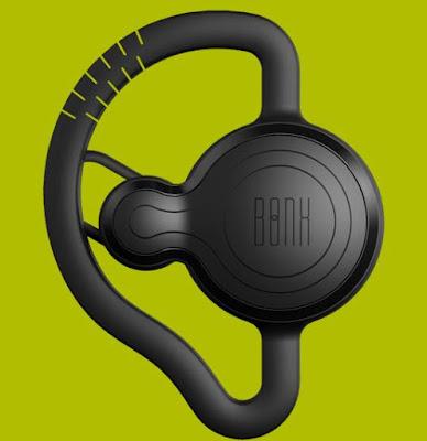 Bonx wearable walkie-talkie