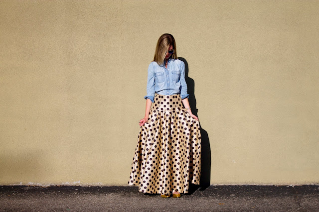 Skirt, Polka Dots, Project Soiree, Fashion, Outfit Post