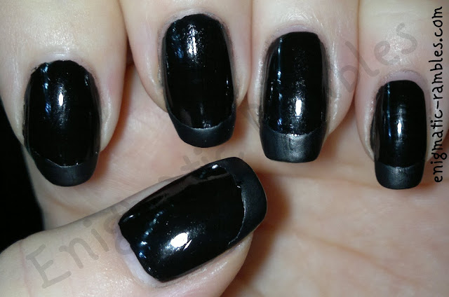 matte-black-french-nails-manicure