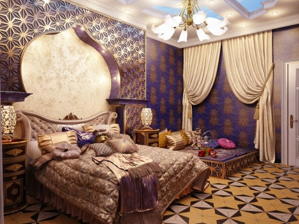 Dormitorios estilo rabe dormitorios colores y estilos for Arabian night bedroom ideas