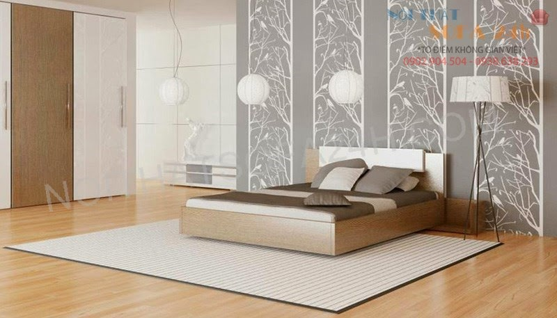 Giường ngủ GN077