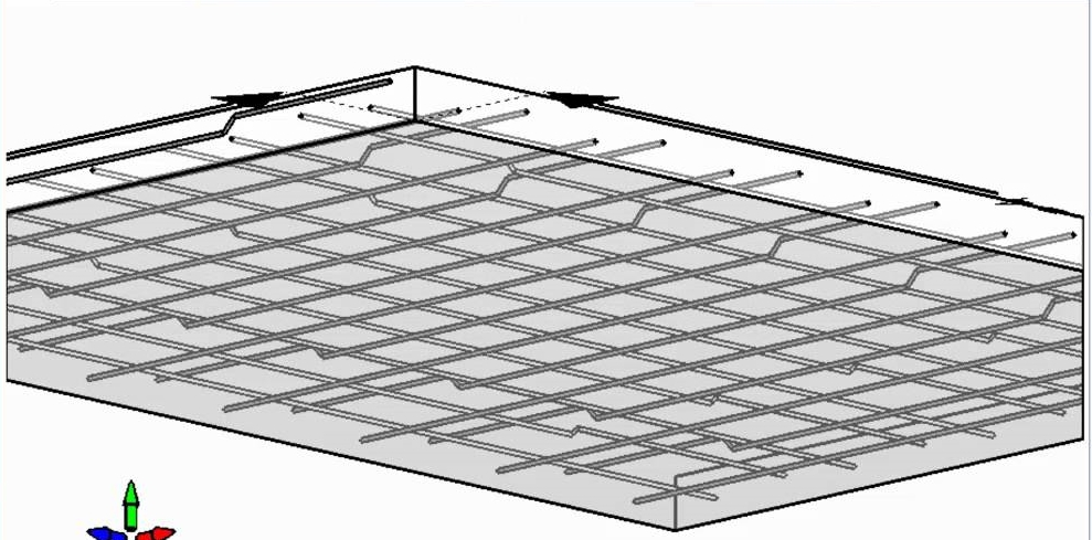 Reinforced concrete slab design notes engineering for Concrete slab plans